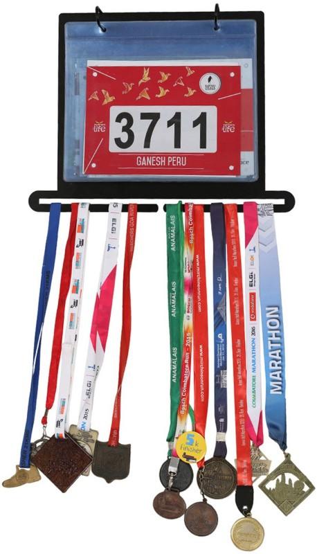 runwynd All In One Bib Display & Medal Hanger Unit Trophy(L)
