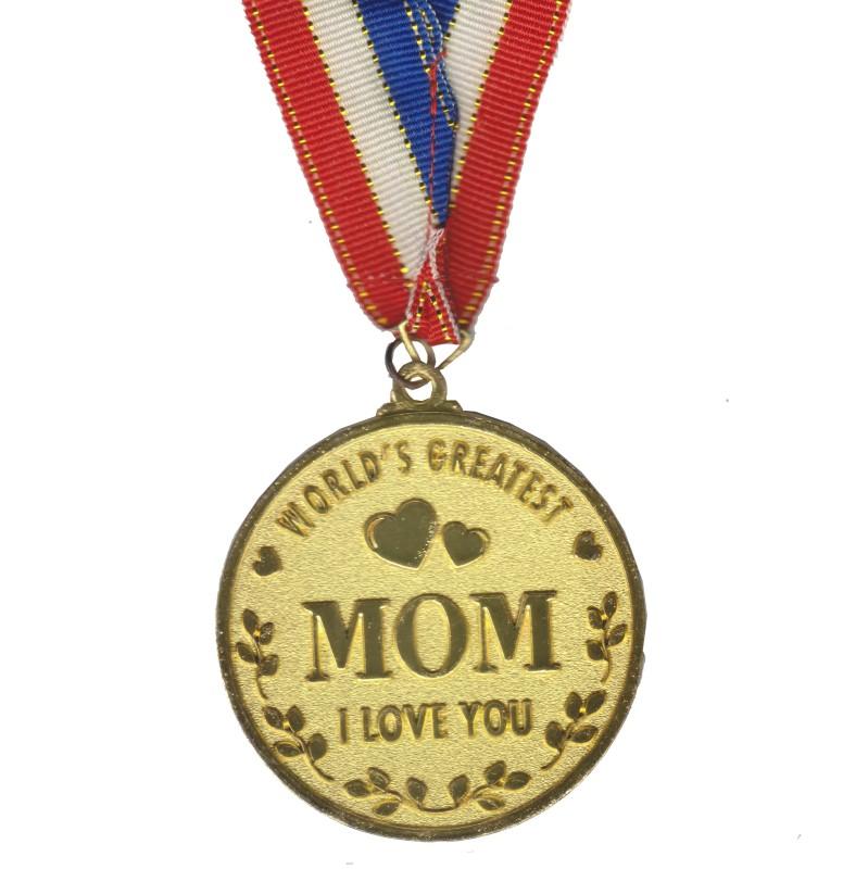 Atpata Funky World's Best MOM Gold Medal Medal(M)