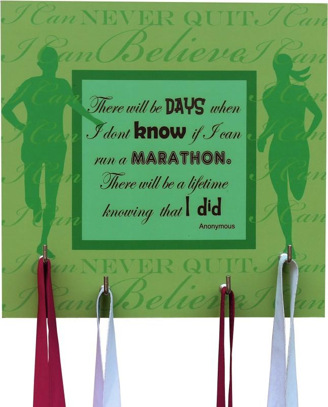 Runwynd I Ran A Marathon Medal Hanger - Green Medal(M)