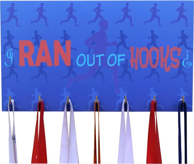 Runwynd Ran Out Of Hooks Medal Hanger Medal(L)