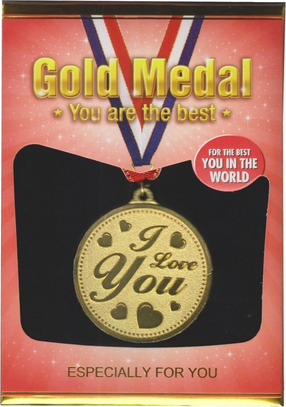 Atpata Funky I Love You Gold Medal Medal(M)