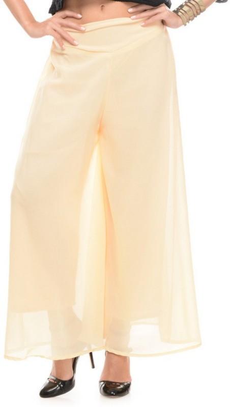 Stop Look Regular Fit Women Beige Trousers