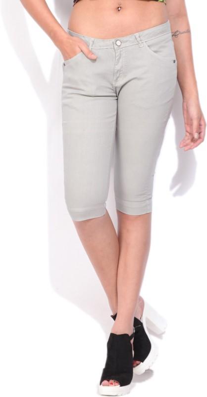 Arrow Slim Fit Womens Beige Trousers