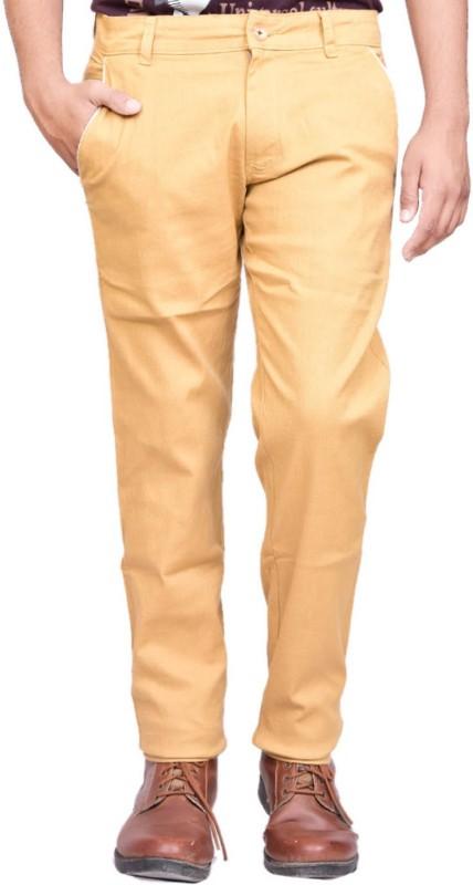 British Terminal Slim Fit Men's Beige Trousers