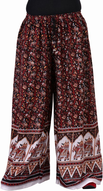 Soundarya Palazzo Regular Fit Women Multicolor Trousers