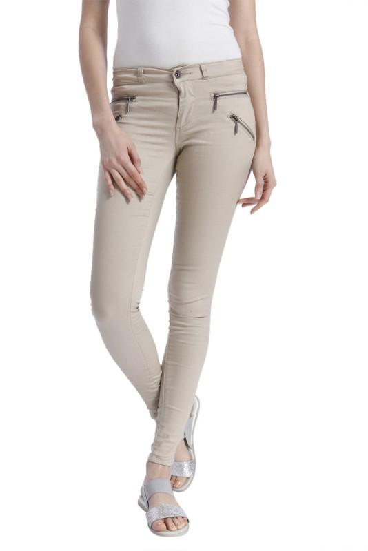 Only Skinny Women Beige Jeans