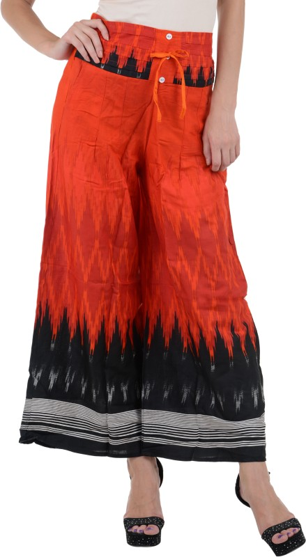 Raabta Fashion Regular Fit Womens Red Trousers
