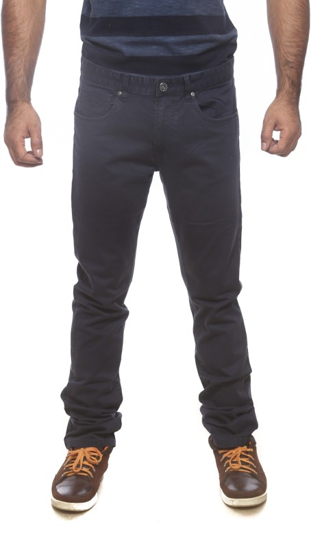 Pepe Slim Fit Mens Dark Blue Trousers