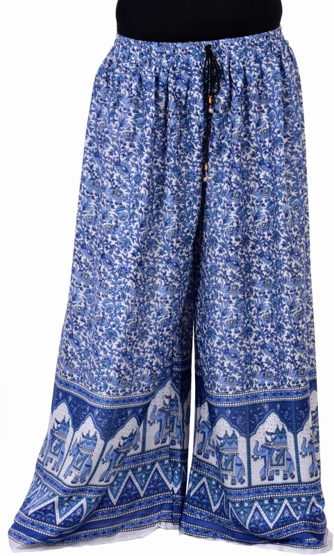 Soundarya Palazzo Regular Fit Women Purple Trousers