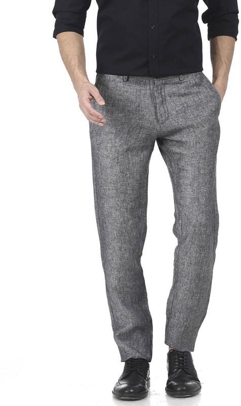 Basics Men's Black Trousers