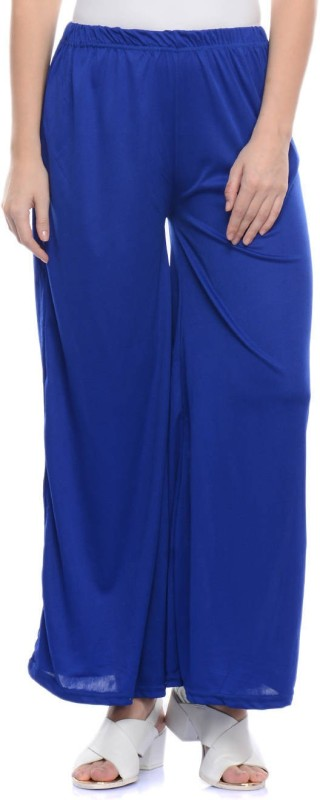 Lavennder Regular Fit Womens Blue Trousers
