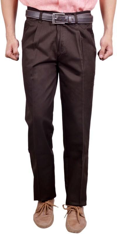 studio-nexx-regular-fit-mens-brown-trousers