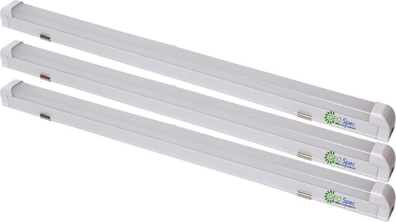 Geospec T8 Batton Type 9W-2Feet LED Tube Light Straight Linear LED Tube Light(White, Pack of 3)