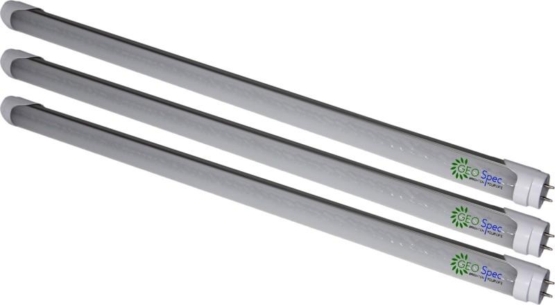 Geospec T8 Retrofit 9W- 2Feet LED Tubelight Straight Linear LED Tube Light(White, Pack of 3)