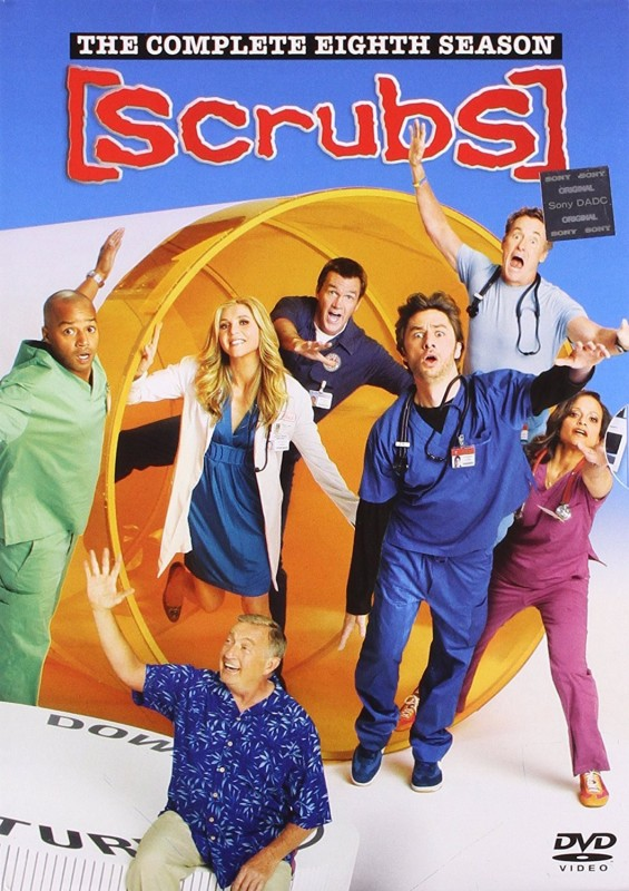Scrubs Season - 8 8(DVD English)