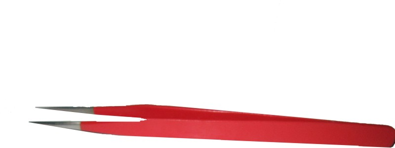 Arnav Pointed Tweezers Red Glossy