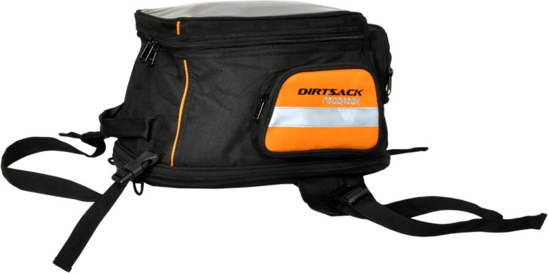 Dirtsack Racepack KTM Tank Bag One-side Orange Fabric Motorbike Saddlebag(16 L)
