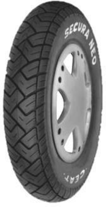 CEAT Secura Neo 3.00-10 Front & Rear Tyre(Dual Sport, Tube)