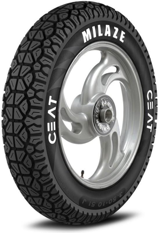 CEAT Milaze TT 90/100-10 Front & Rear Tyre(Dual Sport, Tube)