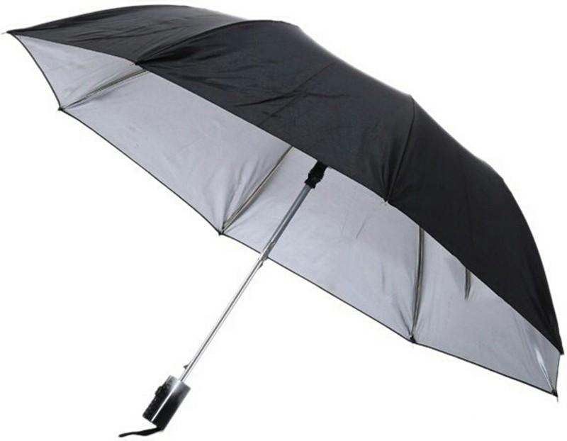 Leepix Regular Use Folding Umbrella(Black)