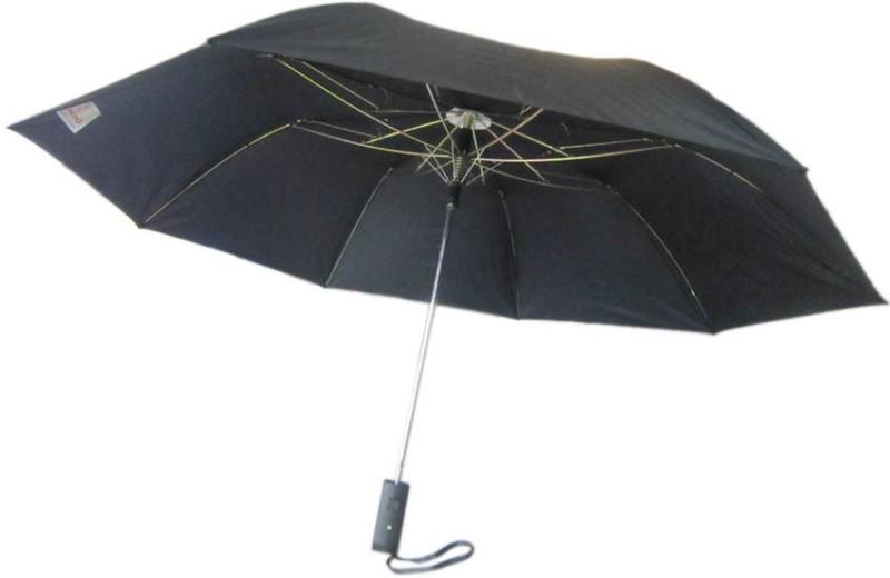 Fendo Auto Open 2 Fold Nylon Men Hilton _a Umbrella(Multicolor)
