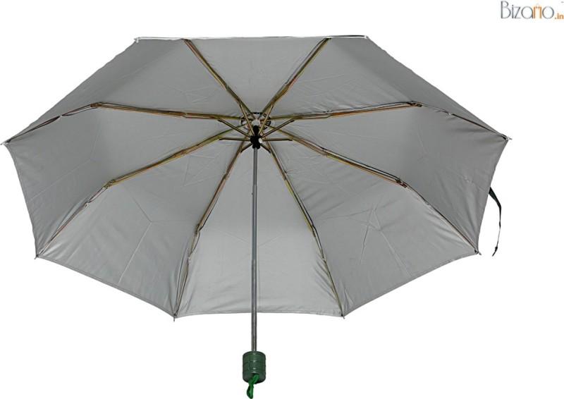 Bizarro.in BIU-1135570CTCB-BLK-FDG-COMBO-Set of 2 Umbrella(Black, Green)