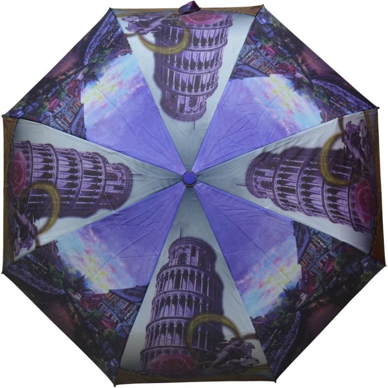 Murano 3 Fold Auto Open RST Print Design 400158_C Beautiful Umbrella(Multicolor)