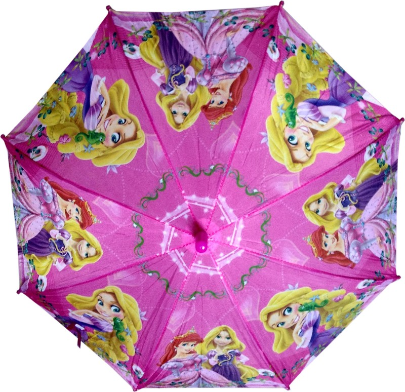 Fiable Creations 1+2 Doll Print 18 Radius Kids - Umbrella(Pink)