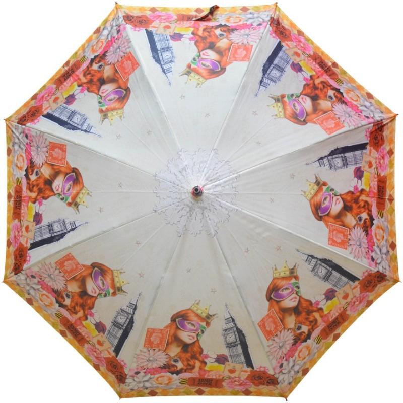 Murano Single Fold Metal Piano Windproof Multicolor Fashion _400166_D Design Umbrella(Multicolor)