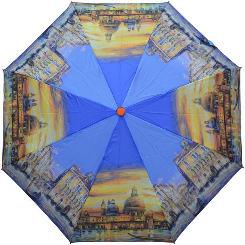 Murano 3 Fold Auto Open RST Print 400084_C Trendy Umbrella(Multicolor)