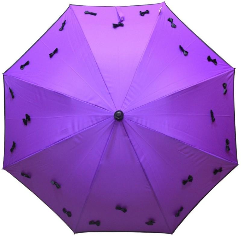 Murano Stright Purple Color Beautiful Design Bow _400167_A Umbrella(Purple)