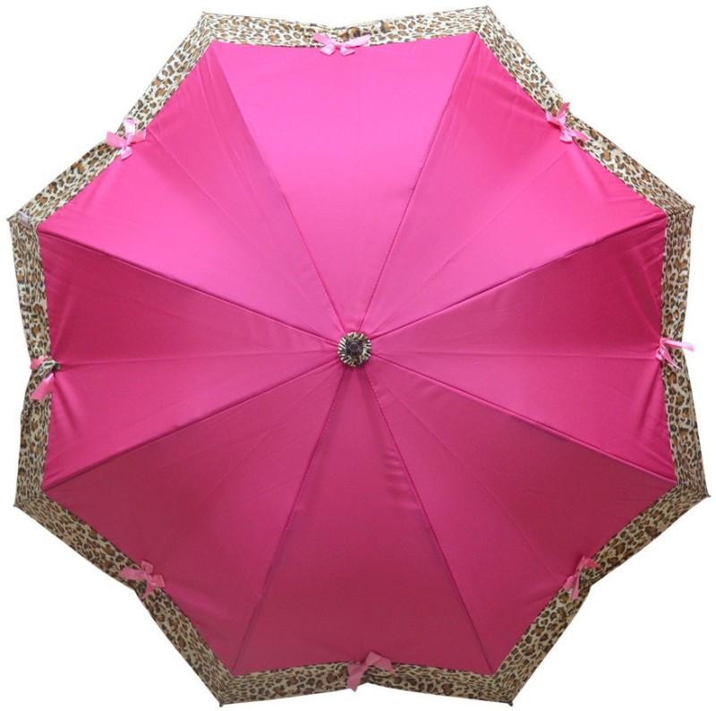 Murano Stright Pink Color Leopard Design beautiful_400127_A Umbrella(Pink)