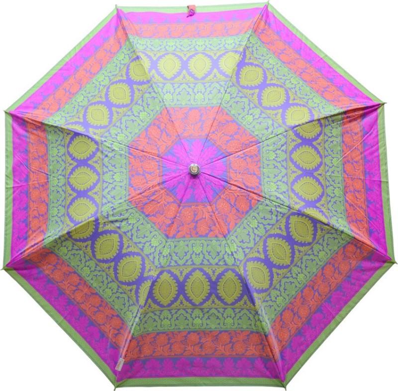 Fendo 2 Fold Auto Open Multi color 400125_C Umbrella(Multicolor)