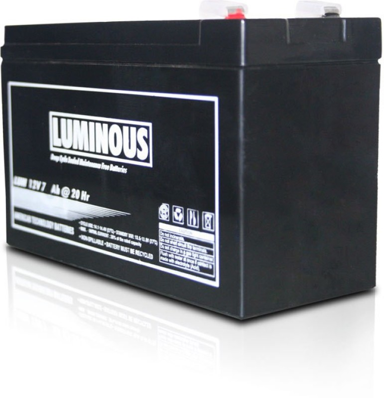 Luminous 12V - 7.2 Ah (Battery) Sealed Maintenance Free UPS image