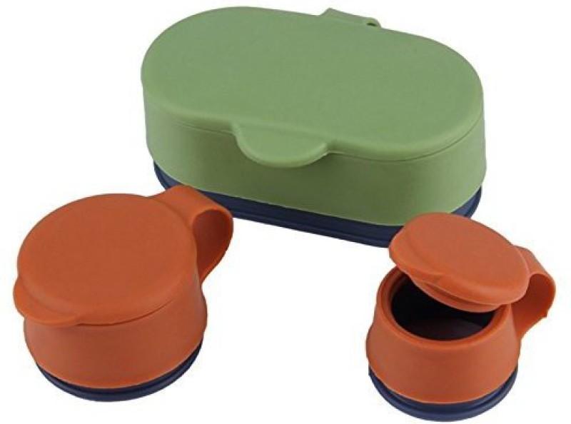 Shrih SH - 02732 3Pcs Reusable Silicone Creative Fresh Magic Button Food Sealing Clip Manual Vacuum Bag Sealer
