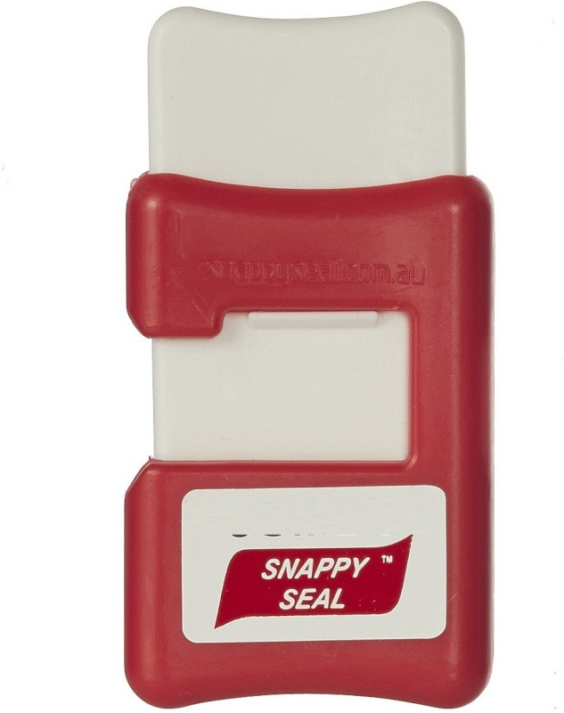 Howards Snappy Seal Red Manual Vacuum Bag Sealer
