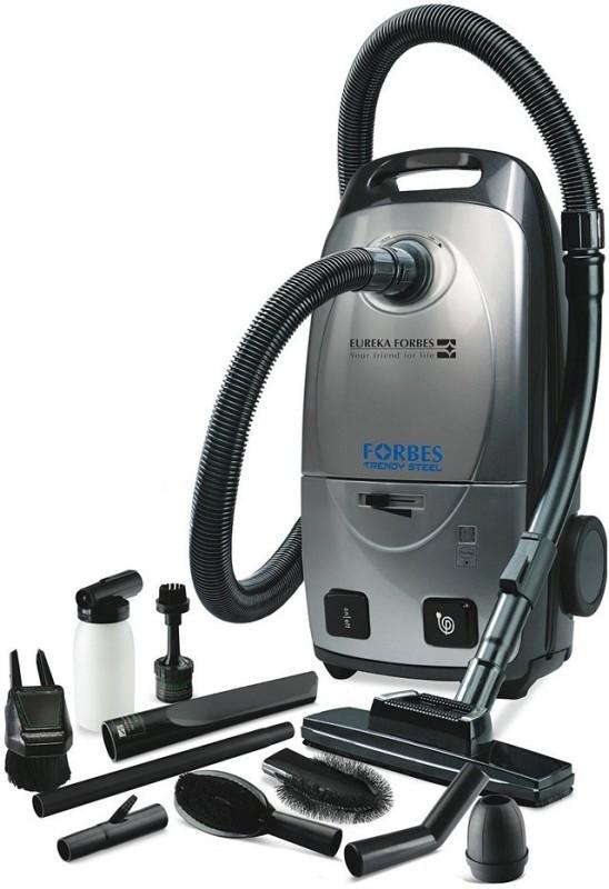 Eureka Forbes TRENDY STEEL DRY Dry Vacuum Cleaner(Grey)