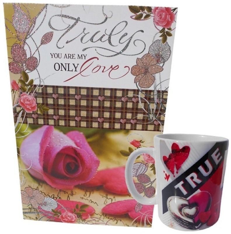 Saugat Traders Greeting Card, Mug Gift Set
