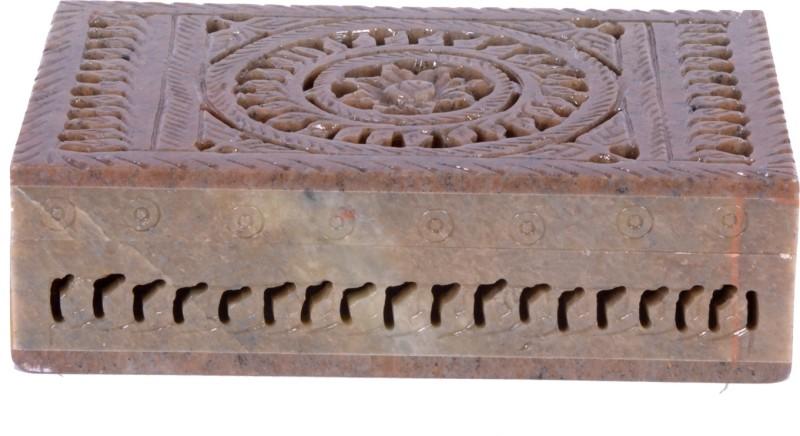 Avinash Handicrafts Stone Rectangle Jwellery Box 6x4