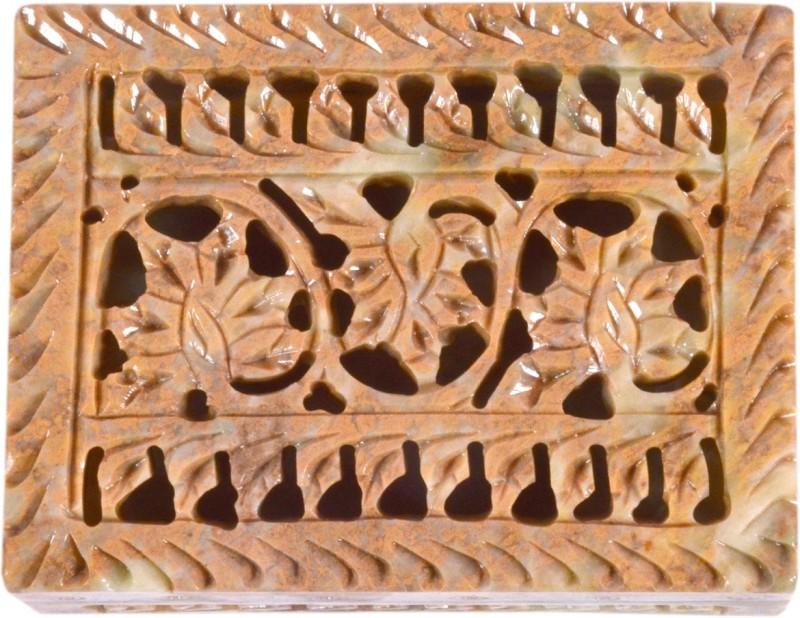 Avinash Handicrafts Soap Stone Carved Rectangle 3x4