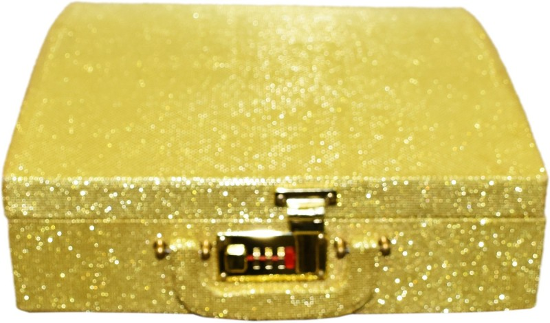 Pride Star Palki Curve to store Bangles Vanity Box(Royal Golden)