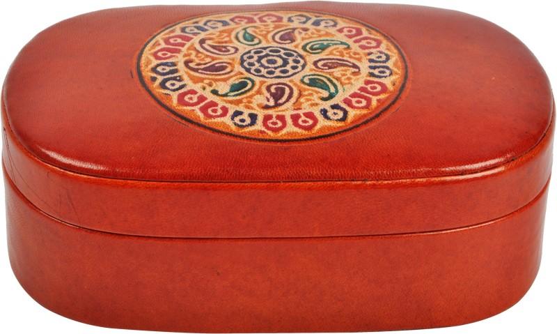 Riya's Signature VB 1 Makeup and Jewellery Vanity Box(Brown)