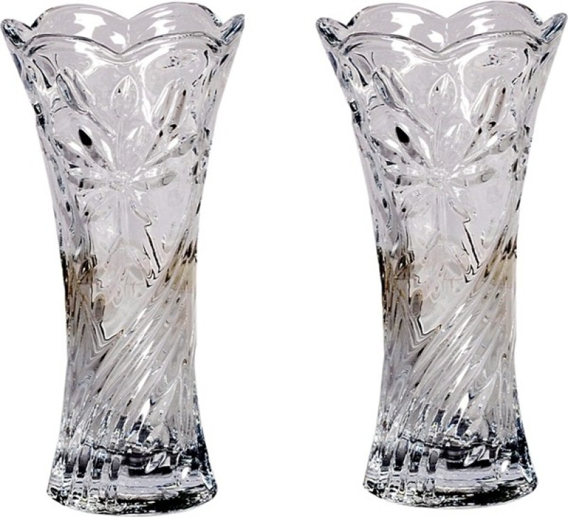 Orchard Glass Vase(7.5 inch, Clear)