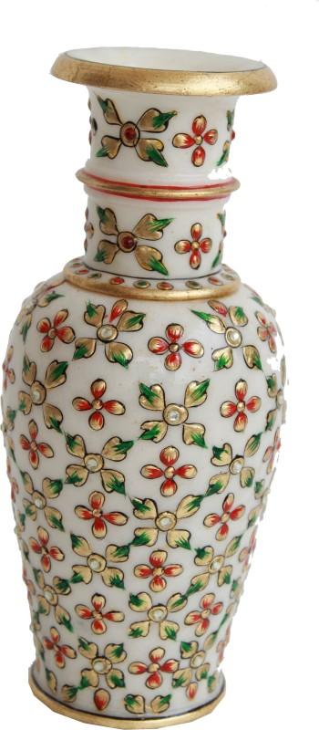 Craft International Stoneware Vase(White)