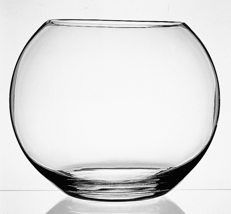 Pasabahce Glass Vase(7.75 inch, Clear)