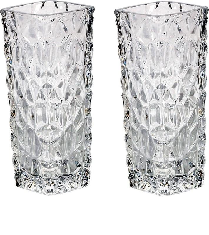 Orchard Glass Vase(6 inch, White)
