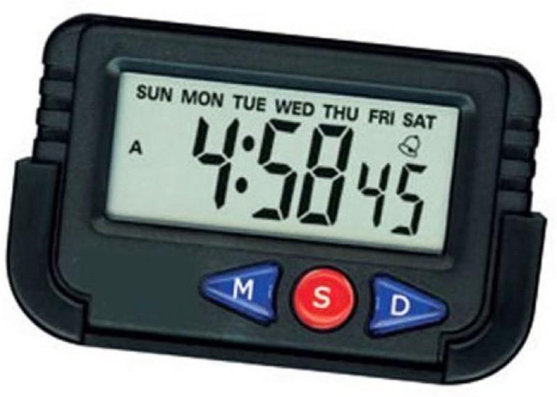 Evana Digital Black Clock