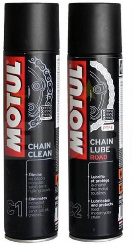 Motul C1 C2 Combo Chain Clean Lube Road Promo Chain Oil(800 ml)