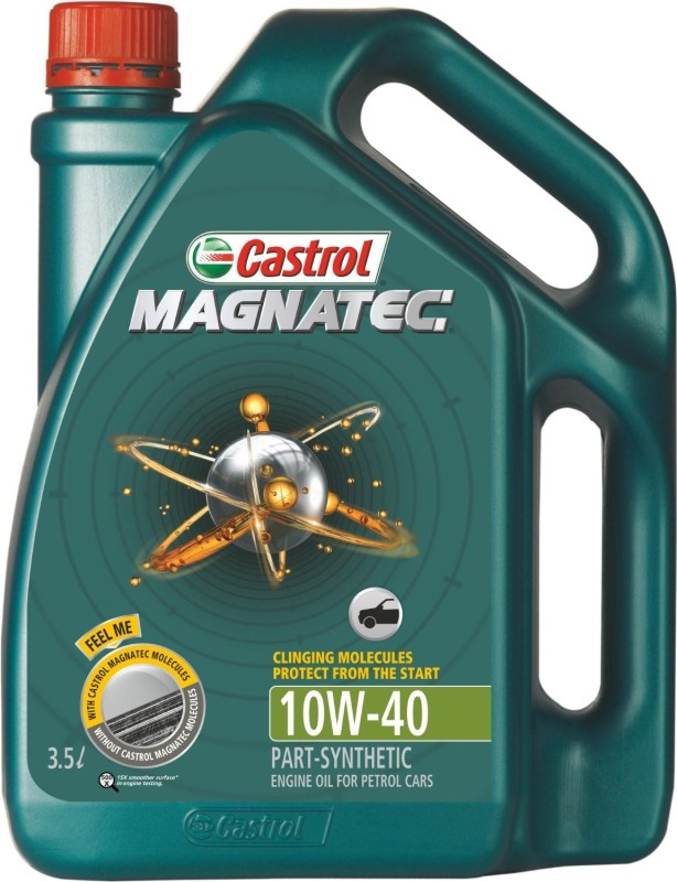 Castrol Magnatec 10W40 Synthetic Motor Oil(3.5 L)