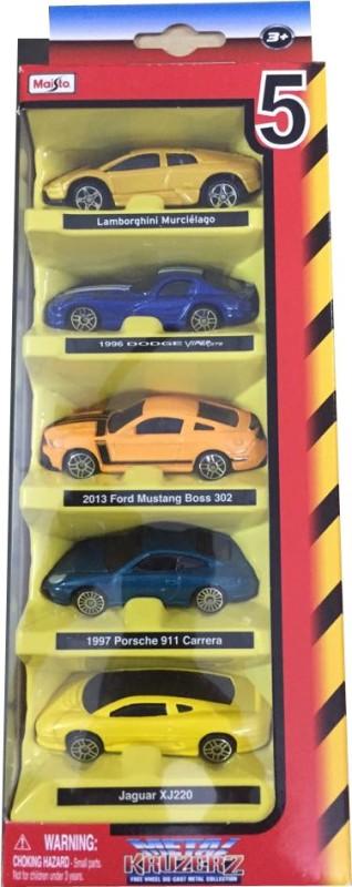Maisto Maisto 5 Pcs. Diecast Cars Gift Set - Assortment 1(Multicolor)